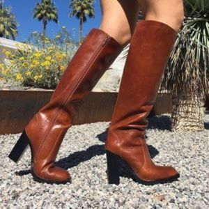 Jeffrey Campbell Ittonia Knee Leather Tall Boot